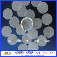 Alibaba China round shape stainless steel Free Samples Cigarette Holder Screen Filter