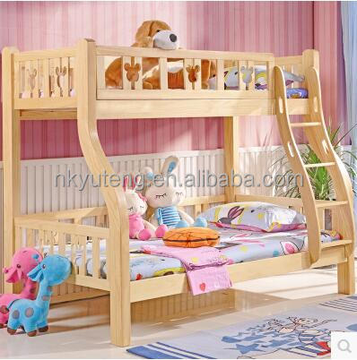 living room pine wood bed set