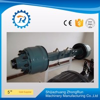 KIC Type Axle English Type Trailer Axle Used Trailer Parts of Direct Factory