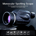 Big Vision Hunting Monocular 13x50 Powerful Handheld Telescope Eyepiece Spotting Scope High power Binocular birdwatching fishing