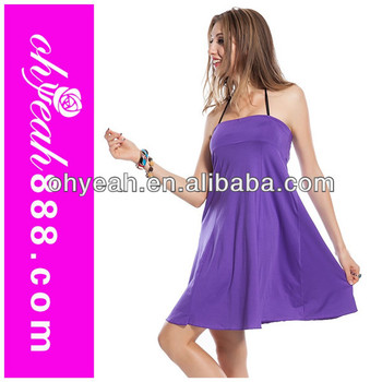 Hot Newest Top Quality Fashionable Colorful Beach Party Dress Multi Way Dresses Whole