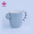 Factory directly cheap price 3D ceramic cat shaped mug