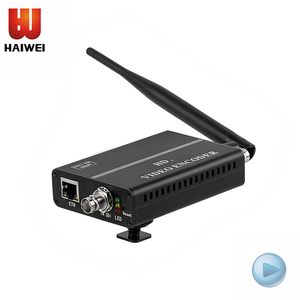 H8114M H.264 Battery wireless WIFI features HD SDI audio and video encoder coding