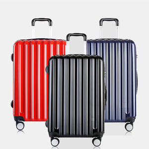 abs+pc plastic hardshell trolley luggage bags travel luggage