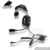Raytalk High Quality Heavy Duty Noise Cancelling single earmuff Headset for two way radio