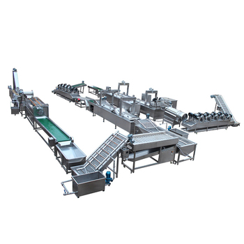 Factory Supply High Efficiency fried potato chips making machine price
