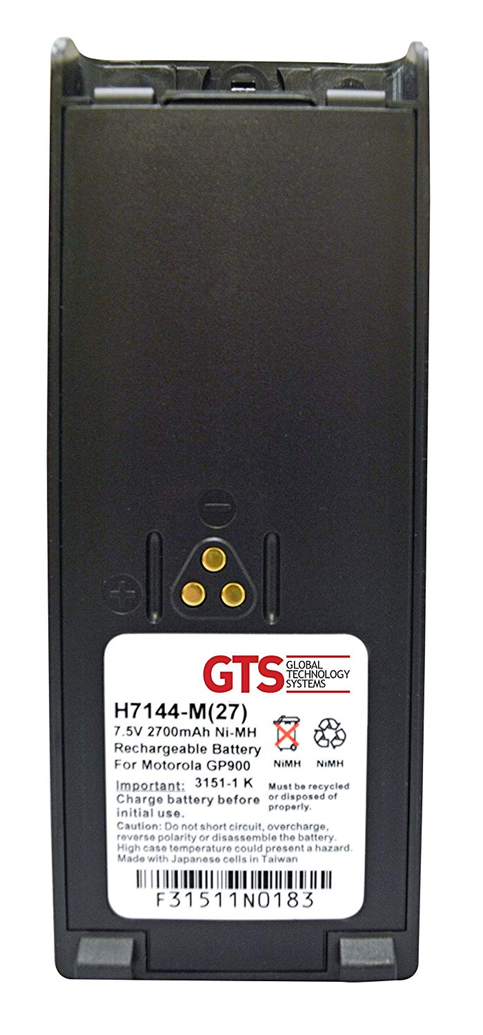 Extended Battery for Motorola HT1000/HT6000/JT1000/MT1000/MTS2000/MTX8000/MTX9000/GP900/GP1200/Mobius/MT2000 two-way radios