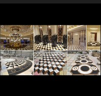 Various Well Marble Medallion Floor Design Water Jet Pattern Pictures