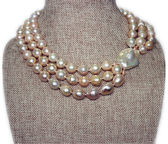 earrings strand nugget jewelry rings us freshwater pearl necklaces m pearls three necklace white