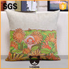 Shanghai plain linen cushion for home sofa and bedroom decoration