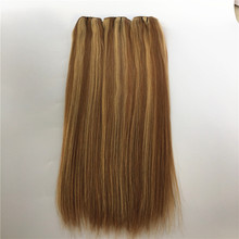 RUIJIA charmant piano rechte Clips in Hair Extensions geen synthetische Haarstukje 24inch 8 stks/set