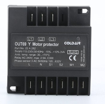 Out69y Compressor Protection Module Rcx-a2 Motor Protector Int69rcy Out69 -  Buy Compressor Protector,Out69y,Protection Module Product on Alibaba com