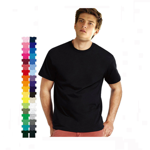 2018100% Cotton Wholesale OEM Logo blank t-shirt Plain TShirt custom t shirt