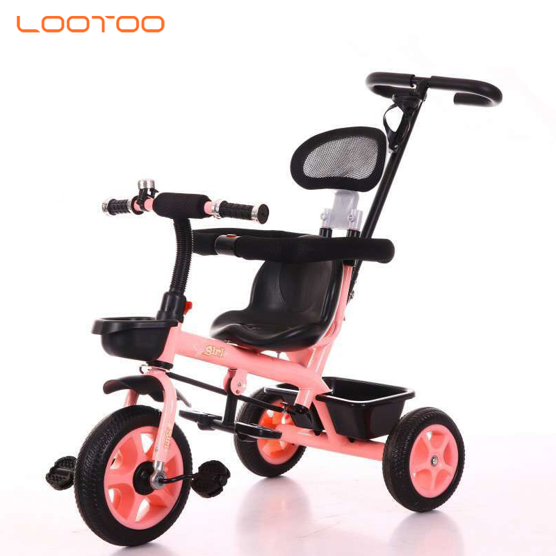 China factory cheap price 3 wheel toddler tricycle with handle