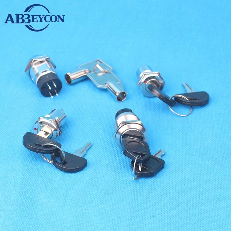 abbeycon,16 Colors for Choice, Keyed Alike, Brass Shackle, ABS Body Safety Padlock emergency push buton switch