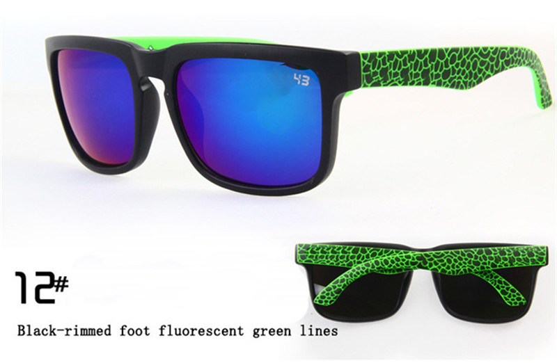 aa2b5cef5fa3f Get Quotations · With Original Package Brand Designer Ken Block Helm  Sunglasses 21 Colors Outdoors Sport Glasses oculos de