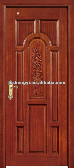 Single door wooden single door for Single door design
