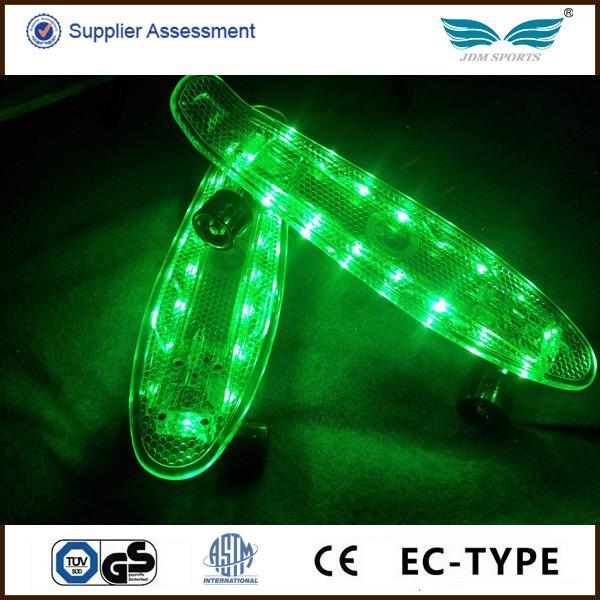 High Quality Customizable Led Glow In The Dark Longboard ...