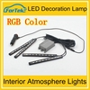High quality Auto Interior Atmosphere Lights 12v interior car accessories RGB led
