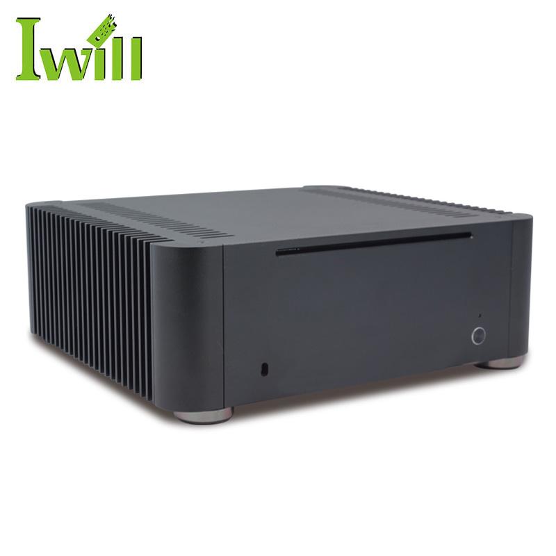 Iwill T8 Desktop PC Case, Fanless Case Mini ITX, Case ITX