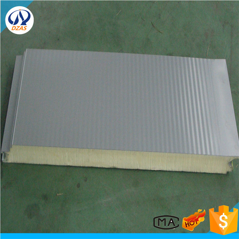 Metallic Decoration Panel /Pu Exterior Wall Panel/Polyurethane Foam Sandwich Panel