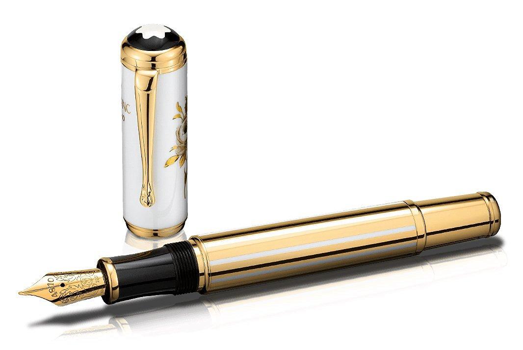 Montblanc Patron of Art Edition Marquise de Pompadour Limited Edition Fountain Pen 4810