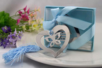 Wedding bridal shower and giveaways for guest--Butterfly Bookmark party favors gifts