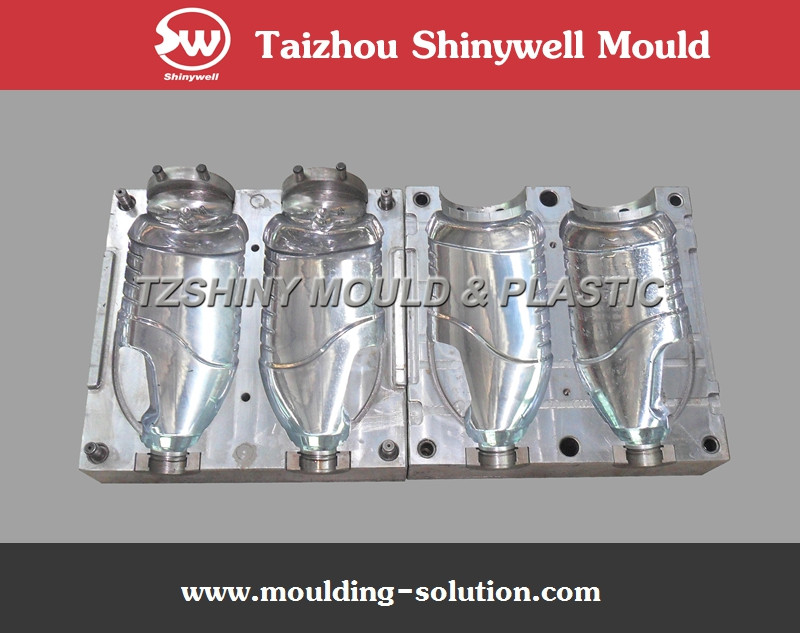 1800ml refined soybean oil plastic bottle mould maker, PET bottle mold