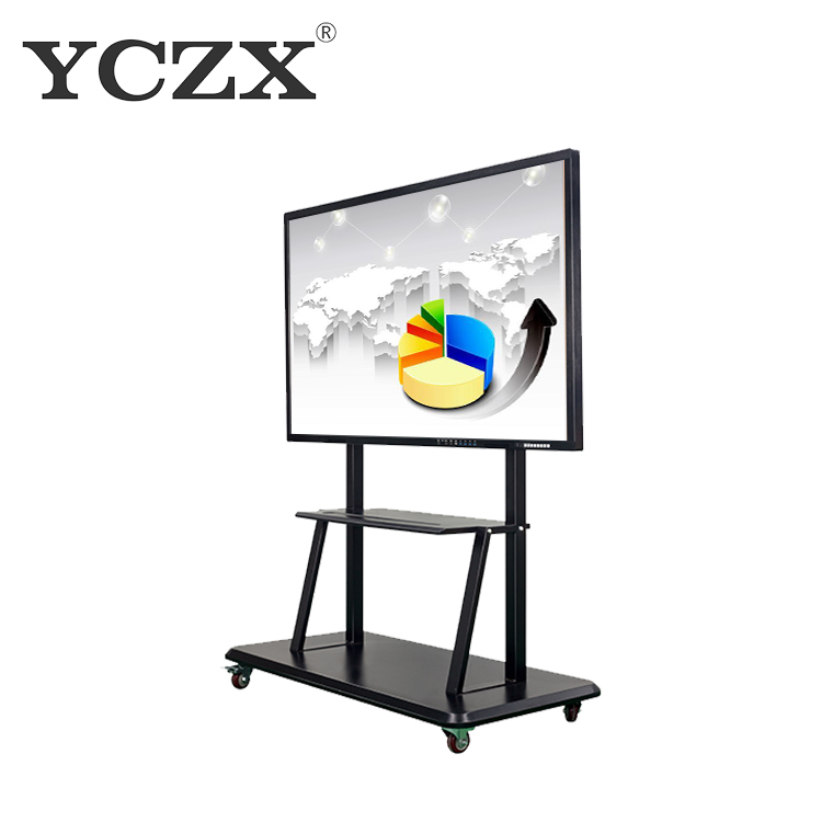 LCD Infrared multi touch interactive touch screen white board for education
