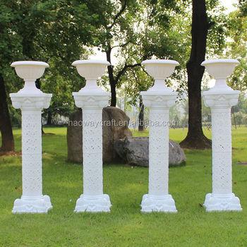 Decoration Wedding Flower Pillar Columns For Sale Flower Stand ...