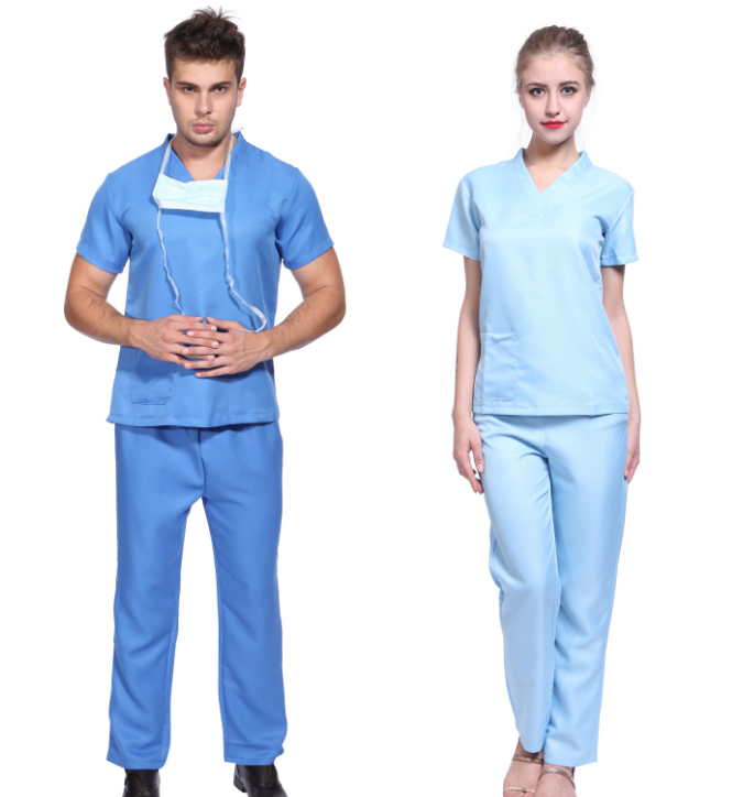 Signore Adulti Uniforme Ospedale Medico Chirurgo Frega Infermiera Fancy Dress Uniform