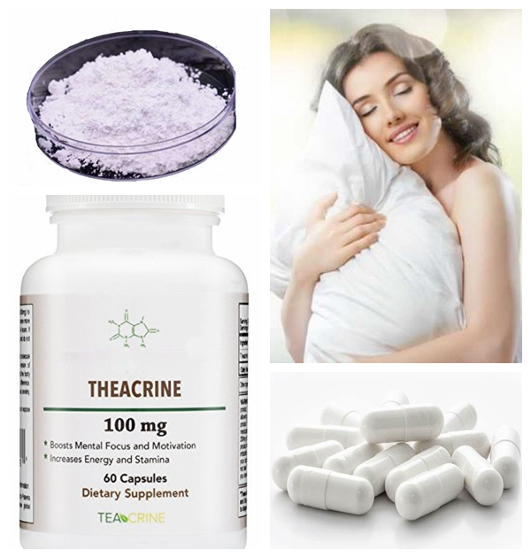 With large stock (1,3,7,9-Tetramethyluric acid)Theacrine CAS 2309-49-1