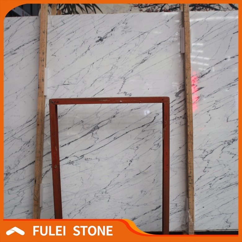 Hot sale cheap china artificial imitation statuario marble stone slab