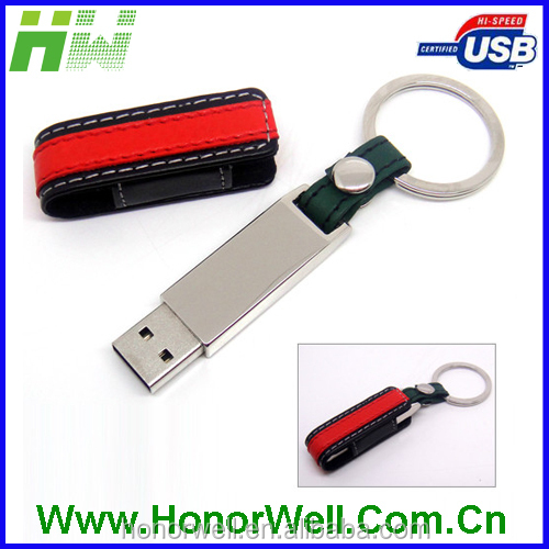 bulk 4gb usb flash drives usb christmas gadgets with leather cover