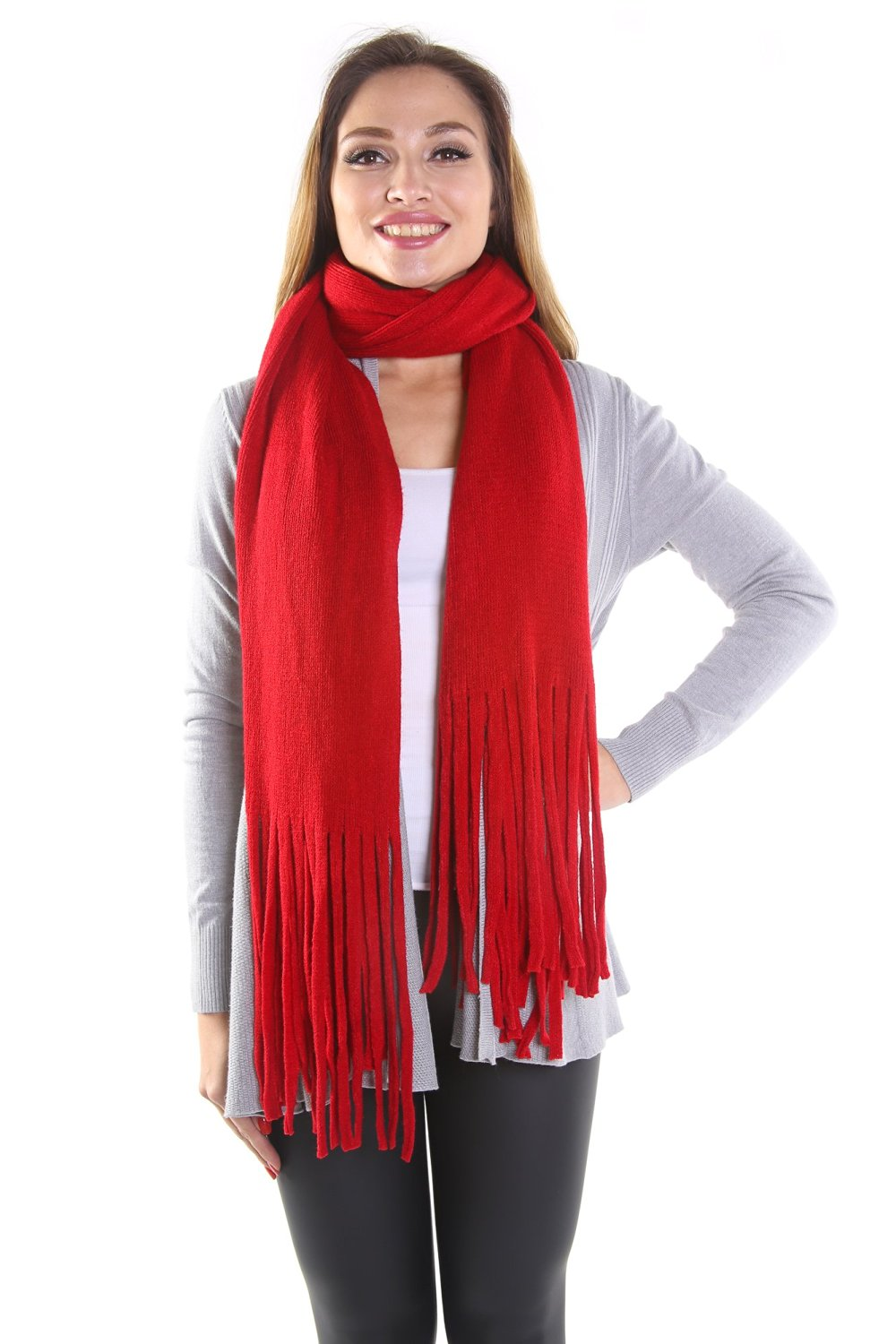 7a775591e8f Get Quotations · Hadari Women s Cozy-Chic Scarf