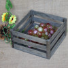 Vintage color antique used wooden wine crate wood fruit crate wooden vegetable storage box