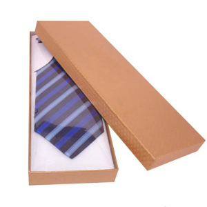 Wholesale high quality custom color printed paper packing box for tie box packing