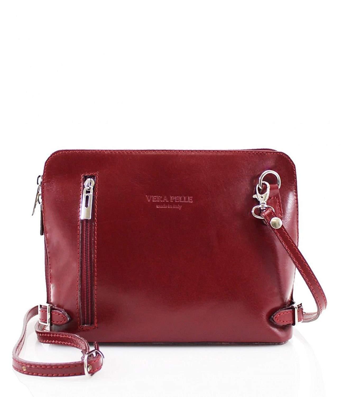 6e9731dd8b509 Get Quotations · Women DESIGNER Handbag REAL ITALIAN LEATHER Shoulder  Crossbody Bag VERA PELLE