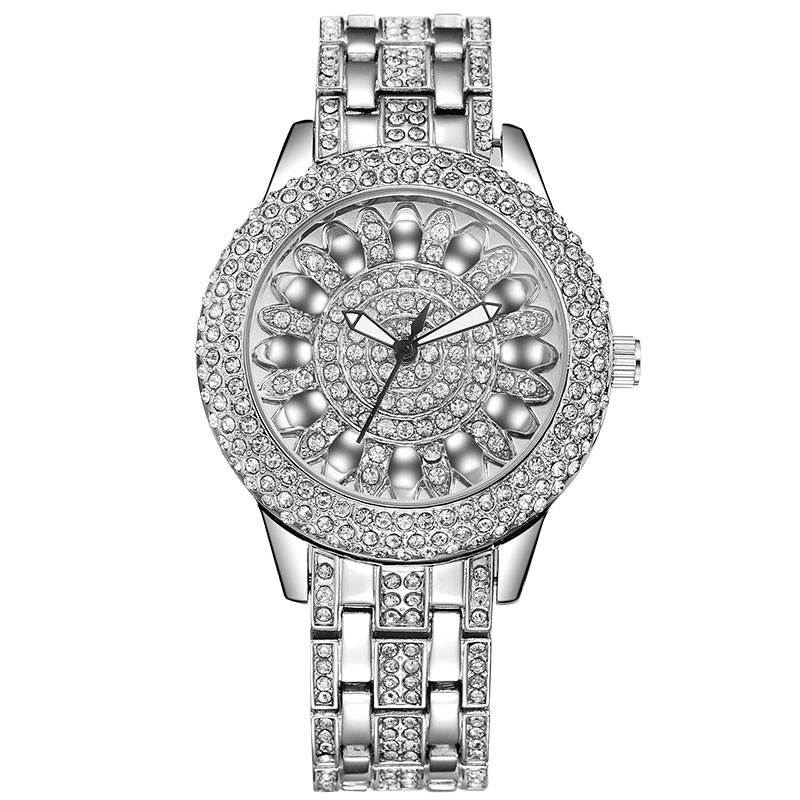 BAOSAILI Luxury Brand Women Watches Gold Women Diamond Luxury Watch Quartz Ladies Wrist Watch