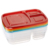 Hard plastic lunch box, Patent lunch box, Hot food lunch box