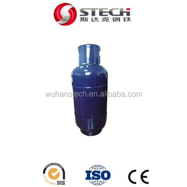 Factory cheap price durable use 19kg 47L lpg gas cylinders for cooking