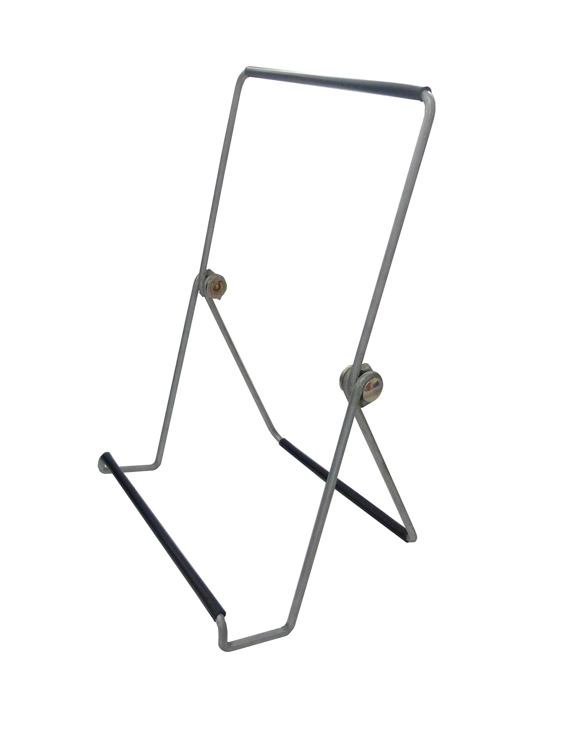 Get Quotations Fixture Displays Wire Easel For Table Top With 1 5 Inch Lip Wide Base