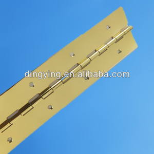,hardware long piano hinges,piano hinge plated copper