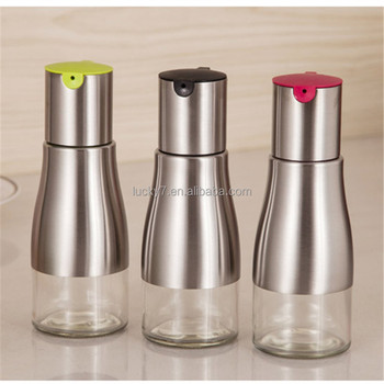 Stainless Steel Olive Oil Bottle All Made Of Food Grade Material Oil