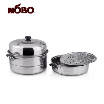 Chinese industrial stainless steel steam pot for cooking