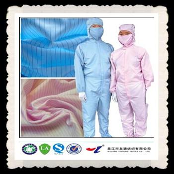 Esd Clothing Fabric Anti Static Clothing Anti Static Finish Textile - Buy  Carbon Fiber Textile,Esd Clothing Fabric,Antistatic Finish Textile Product