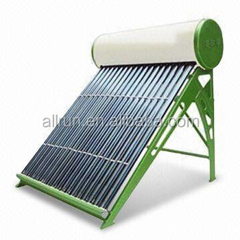 100L 200L 300L 500L non-pressurized solar water heater with assistant tank