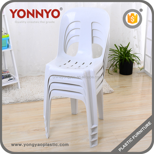 Wholesale Popular Stackable Chairs Armless Plastic Chairs Price