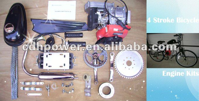 4 stroke 49cc 142F huasheng engine kit for motorized bicycle, View 4 stroke  49cc 142F huasheng bicycle engine kit , CDH Product Details from CDHPOWER