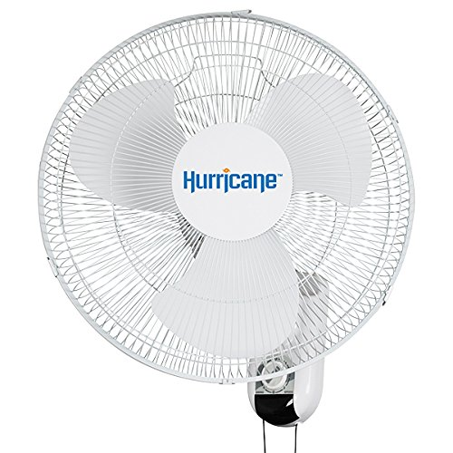 Get Quotations Hurricane Wall Mount Fan 16 Inch Clic Series With 90 Degree